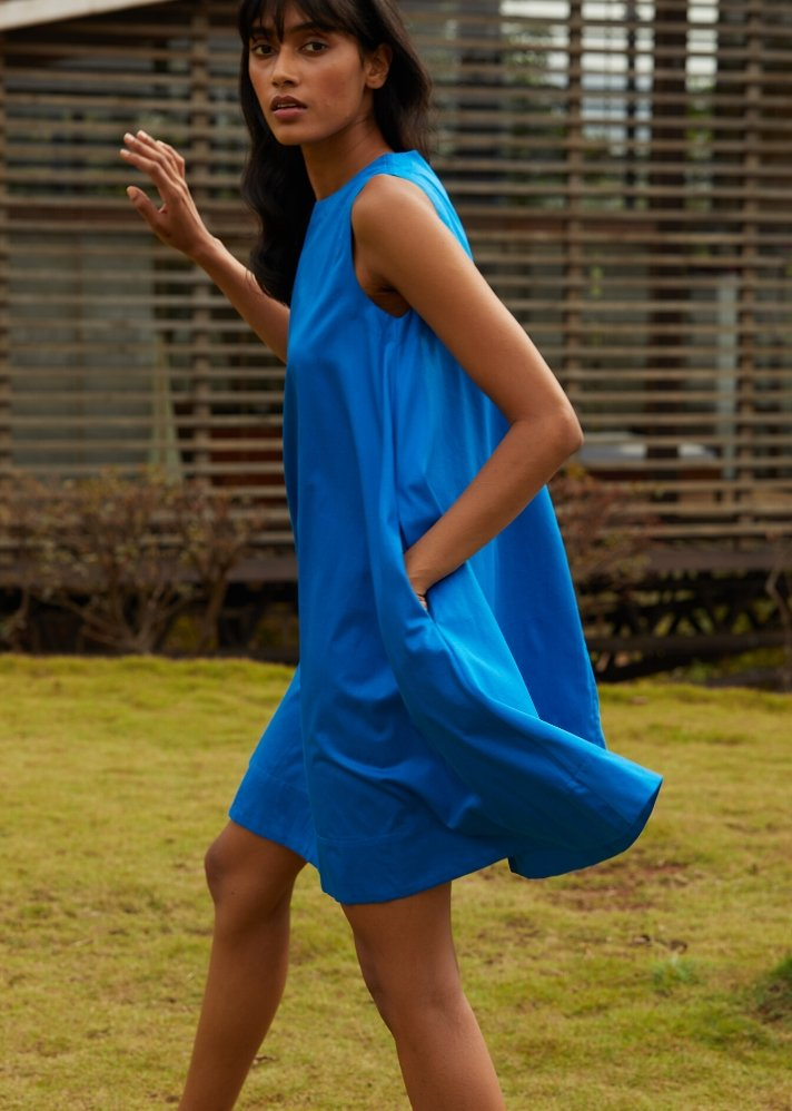 Summer tent dress - Ethical made fashion - onlyethikal