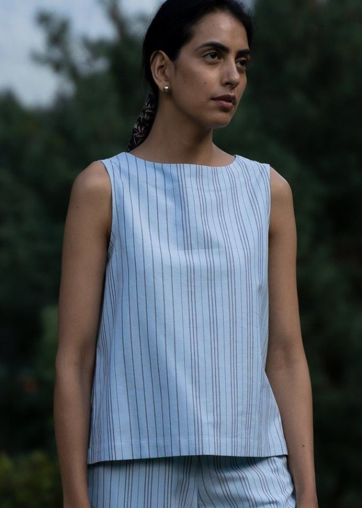 Tailored Top - Ethical made fashion - onlyethikal