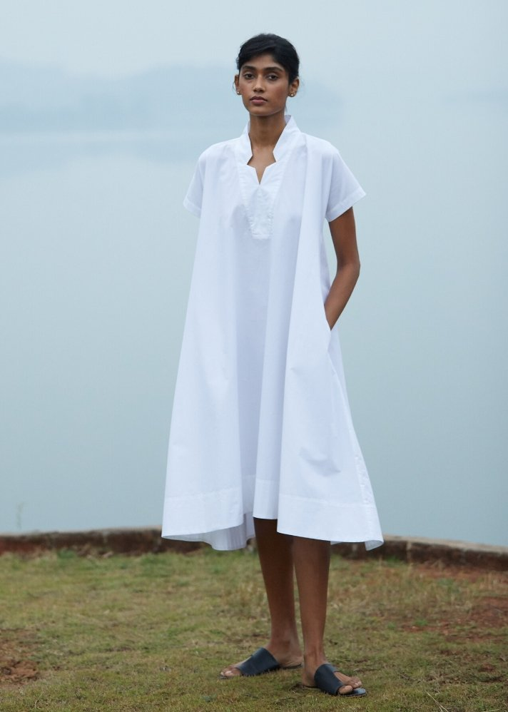 Tent dress in soft Cotton - onlyethikal
