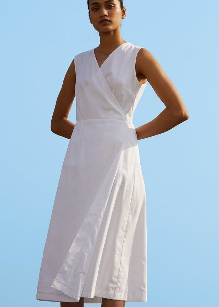The White Dress - Ethical made fashion - onlyethikal