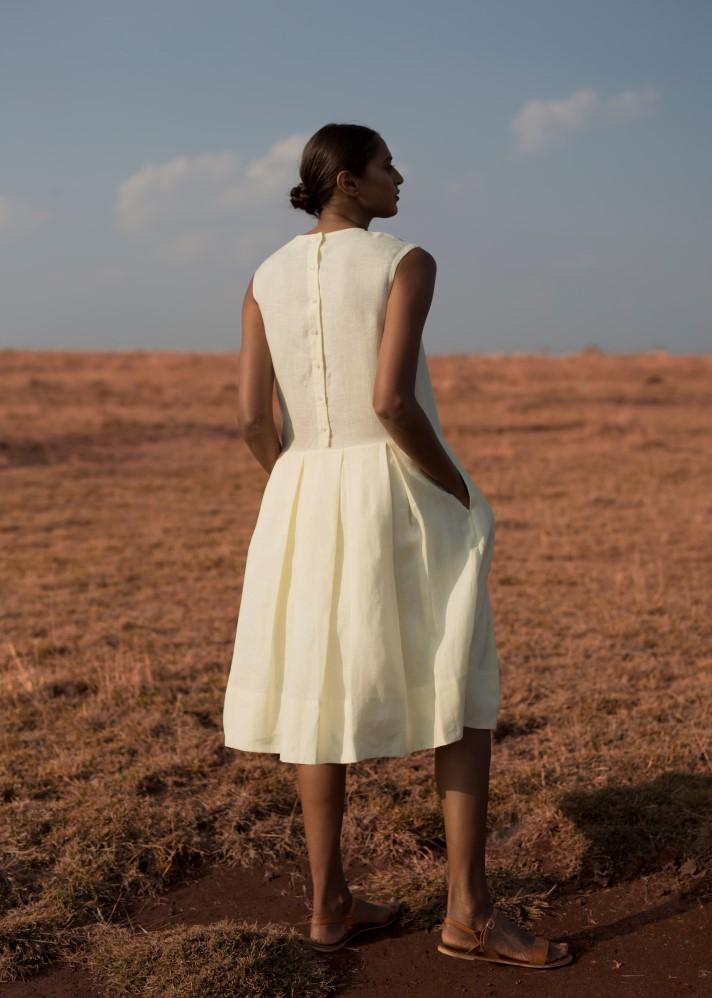 The yellow dress - Ethical made fashion - onlyethikal