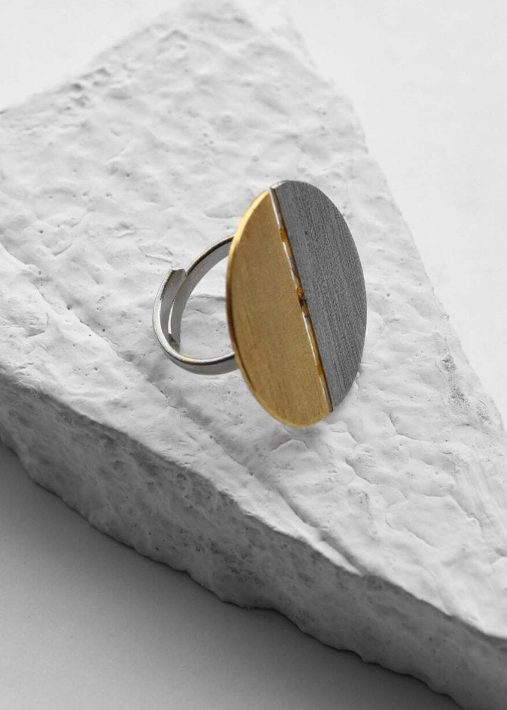 Yin ring - Ethical made fashion - onlyethikal