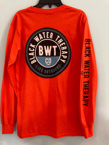 Black Water Therapy Company Long Sleeve Logo Tee