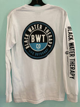 Load image into Gallery viewer, Black Water Therapy Company Long Sleeve Logo Tee