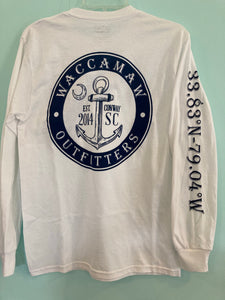 Waccamaw Outfitter Long Sleeve Logo Tee