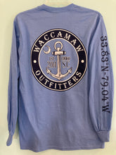 Load image into Gallery viewer, Waccamaw Outfitter Long Sleeve Logo Tee