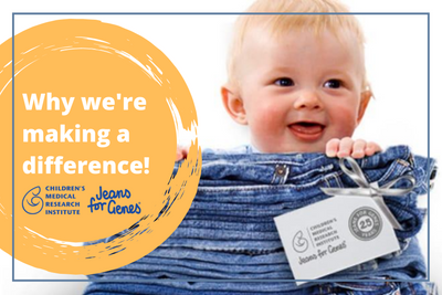 Jeans For Genes Days - Why We're Making A Difference!