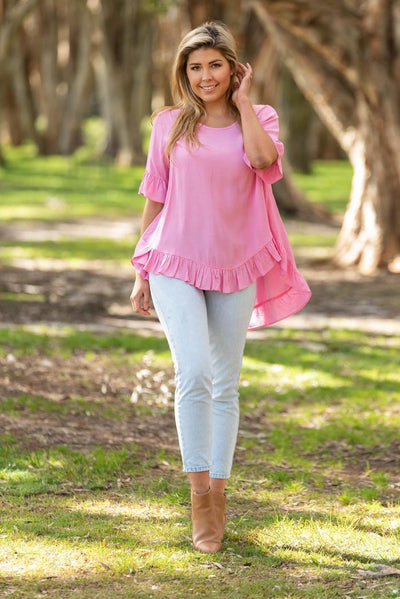 Style Of The Week - Boho Cisco Frill Top
