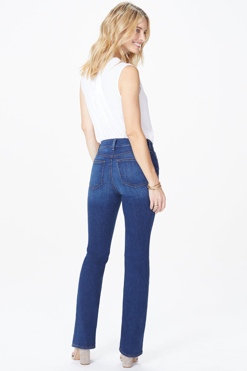 NYDJ BARBARA BOOTCUT IN MID DENIM COOPER