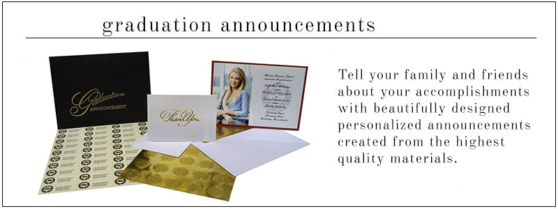 Personalized Graduation Announcements