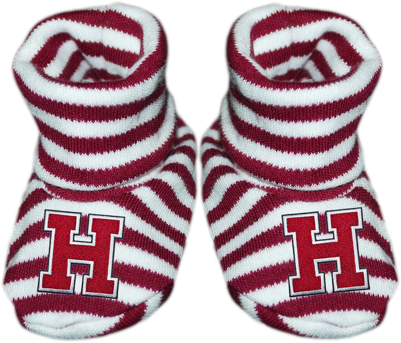 Harvard Striped Booties