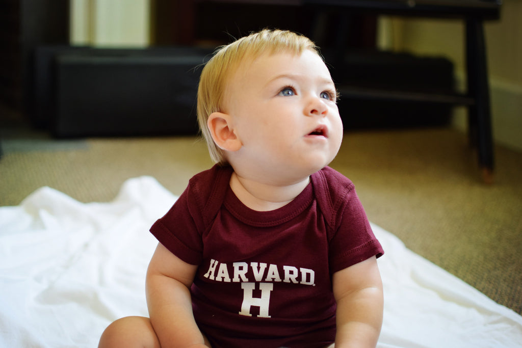 Harvard H Infant Onesie