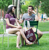 Harvard Sweatshirt Tote Lifestyle