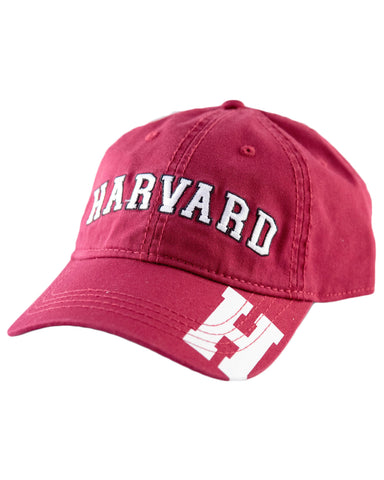 Harvard H Brim Hat