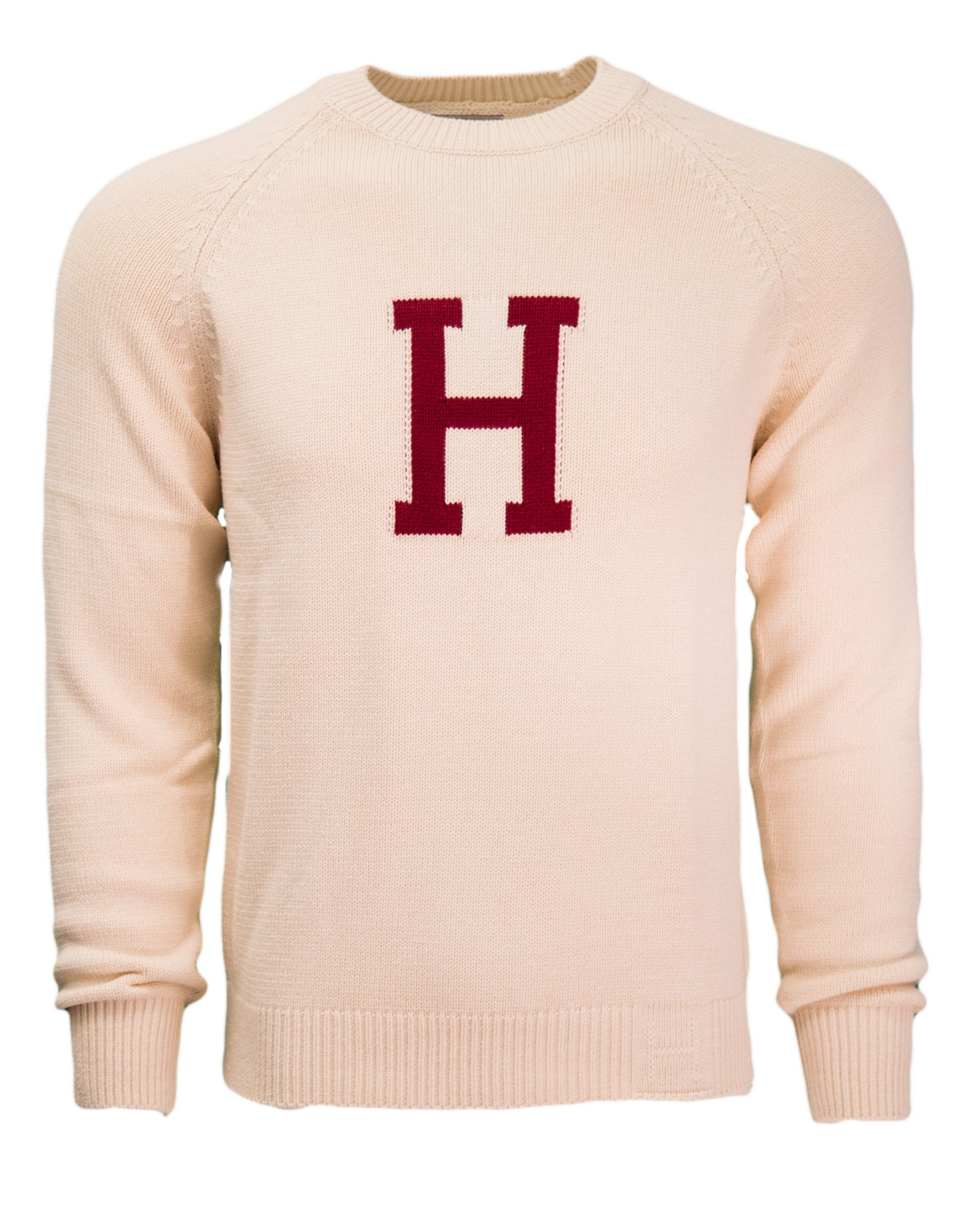 07f0a0c2f61f Merino Wool H Sweater – The Harvard Shop