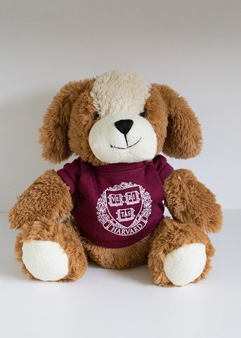 Harvard Dog Plush Toy