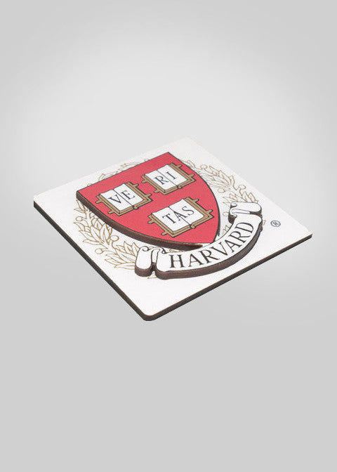 Official Harvard University 3D Crest Magnet