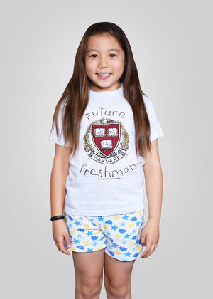 Official Harvard Future Freshman T-Shirt - Gray