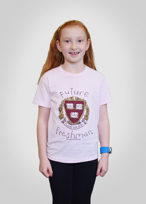Official Harvard Future Freshman Shirt - Pink