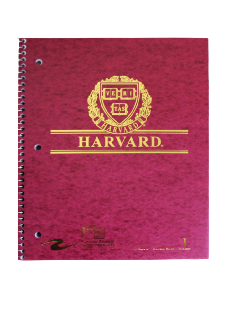 Harvard Notebook