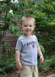 Official Harvard Youth Crest T-Shirt - Gray