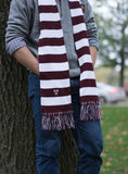 Harvard Striped Scarf