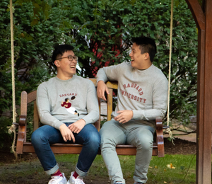 Harvard Felt Illustrated Sweatshirt