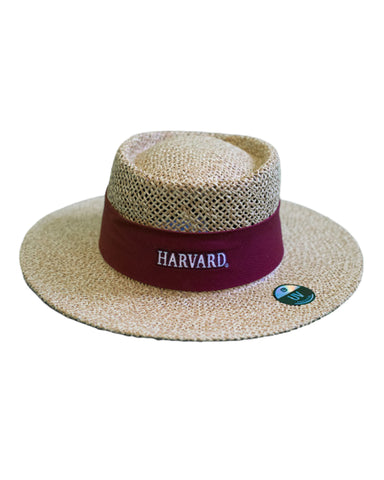 Harvard Straw Hat