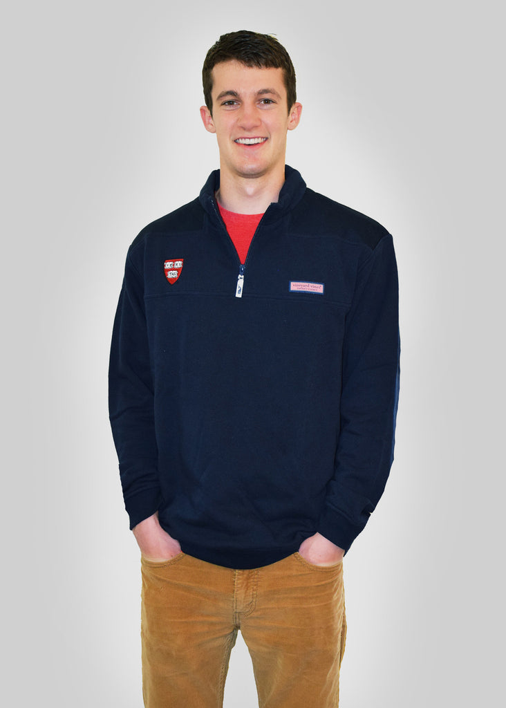 Official harvard clothing accessories by vineyard vines for Vineyard vines shep shirt men