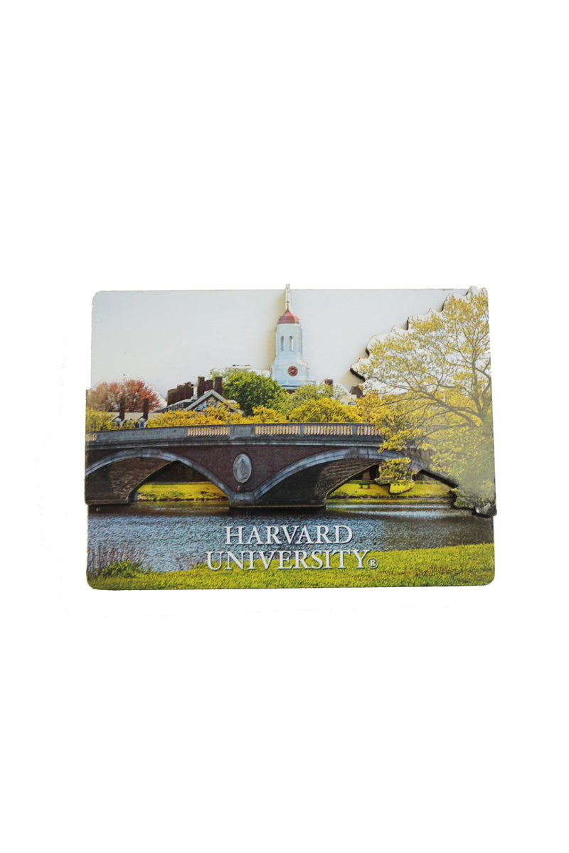 Harvard Weeks Bridge Magnet