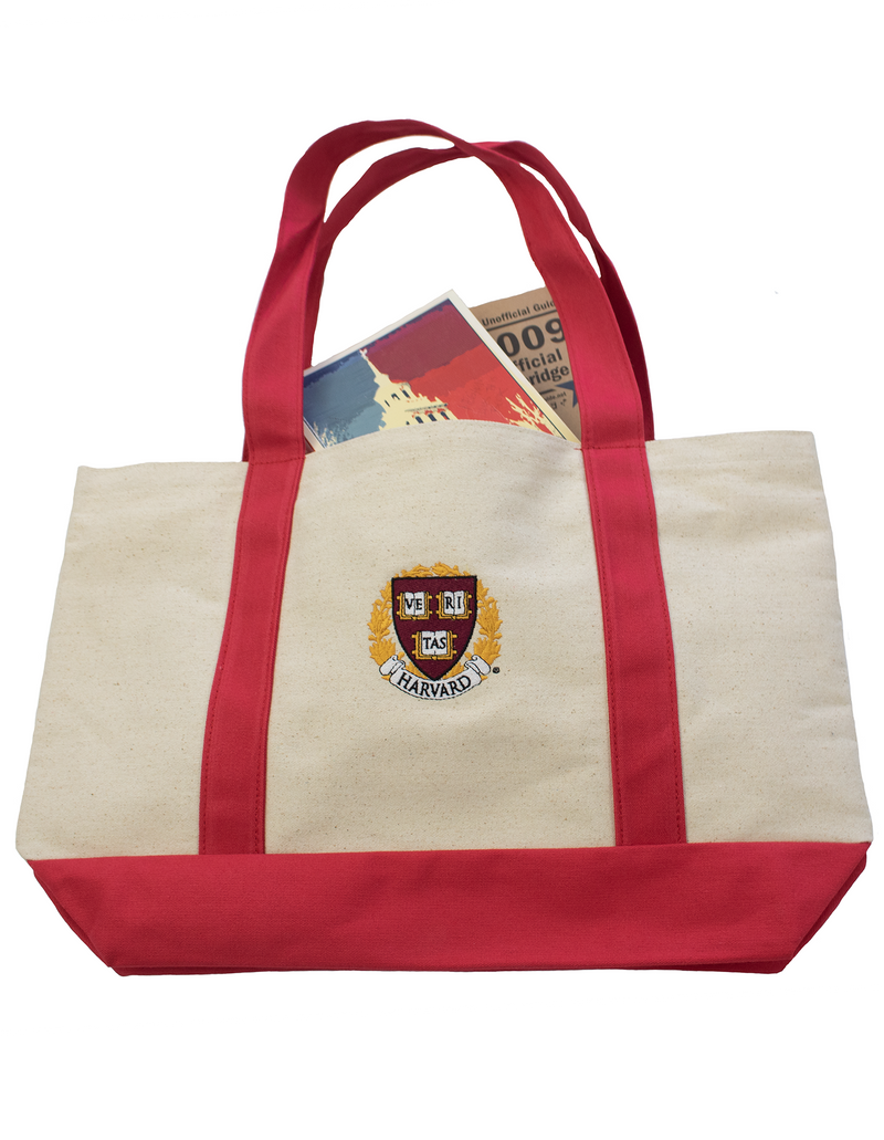 Harvard Crest Tote Bag