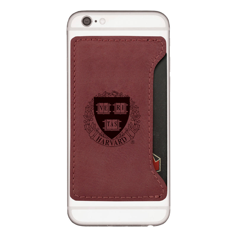 Harvard Cellphone Card Holder