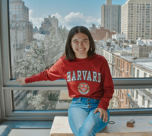 Harvard Crest Long Sleeve T-shirt