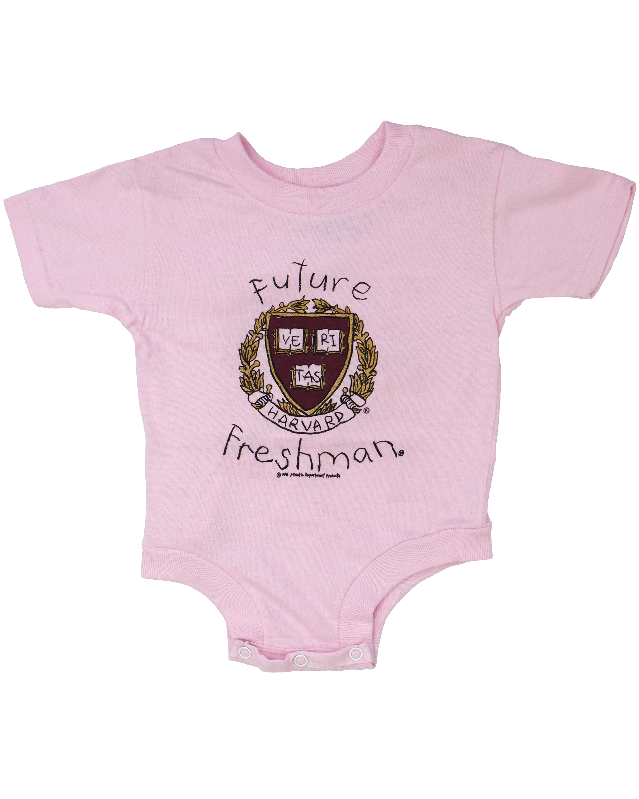 Future Freshman Onesie The Harvard Shop