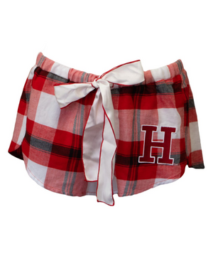 Harvard Ladies' Flannel PJ Shorts