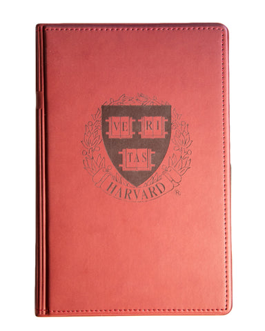 Leather Crest Mini Padfolio