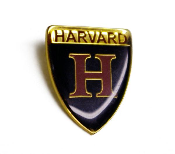 Harvard H Shield Pin