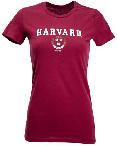 Harvard Ladies Crest T-Shirt