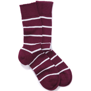 Harvard Striped Socks