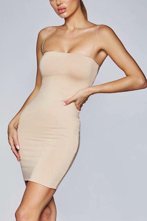 Wardrobe Essential Spaghetti Strap Bodycon Dress