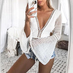 Puff Sleeve Plunge Lace Bodysuit Going Out Body Suits High Waisted