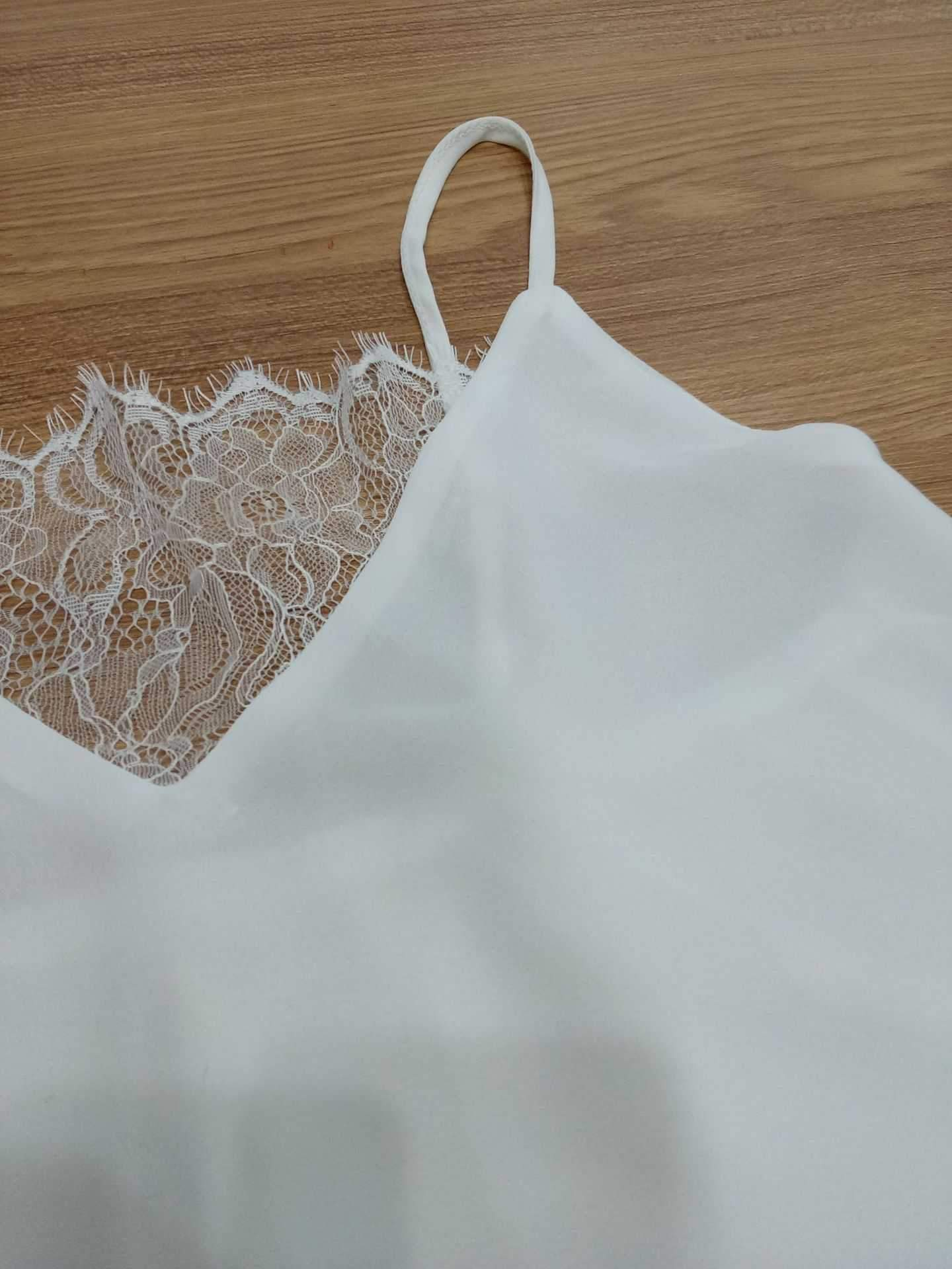 Womens V Neck Lace Camisole Tank Tops