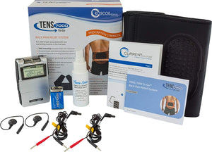TENS 7000 To Go 2nd Edition Back Pain Relief System With Conductive Back Brace - TENS 7000
