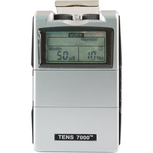 TENS 7000 2nd Edition Digital TENS Unit Kit With Accessories - TENS 7000