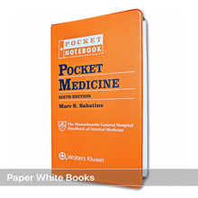 Load image into Gallery viewer, Pocket Medicine: The Massachusetts General Hospital Handbook of Internal Medicine