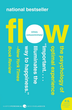 Load image into Gallery viewer, Flow: The Psychology of Optimal Experience (Harper Perennial Modern Classics)