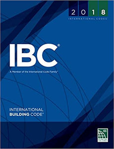 2018 International Building Code (International Code Council Series)