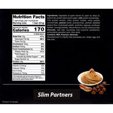 Load image into Gallery viewer, Slim Partners Protein Bars, Keto Peanut Butter (Case)