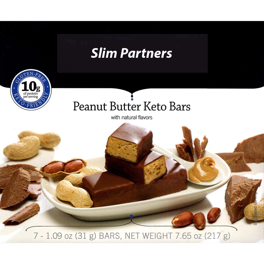 Slim Partners Protein Bars, Keto Peanut Butter