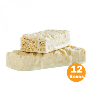 Low Carb Protein & Fiber Bars, Fluffy Vanilla Crisp (Case)